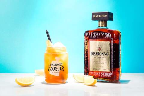 Disaronno Sour Jar, cocktails, amaretto, foodfotografie, drinks, studiozelden
